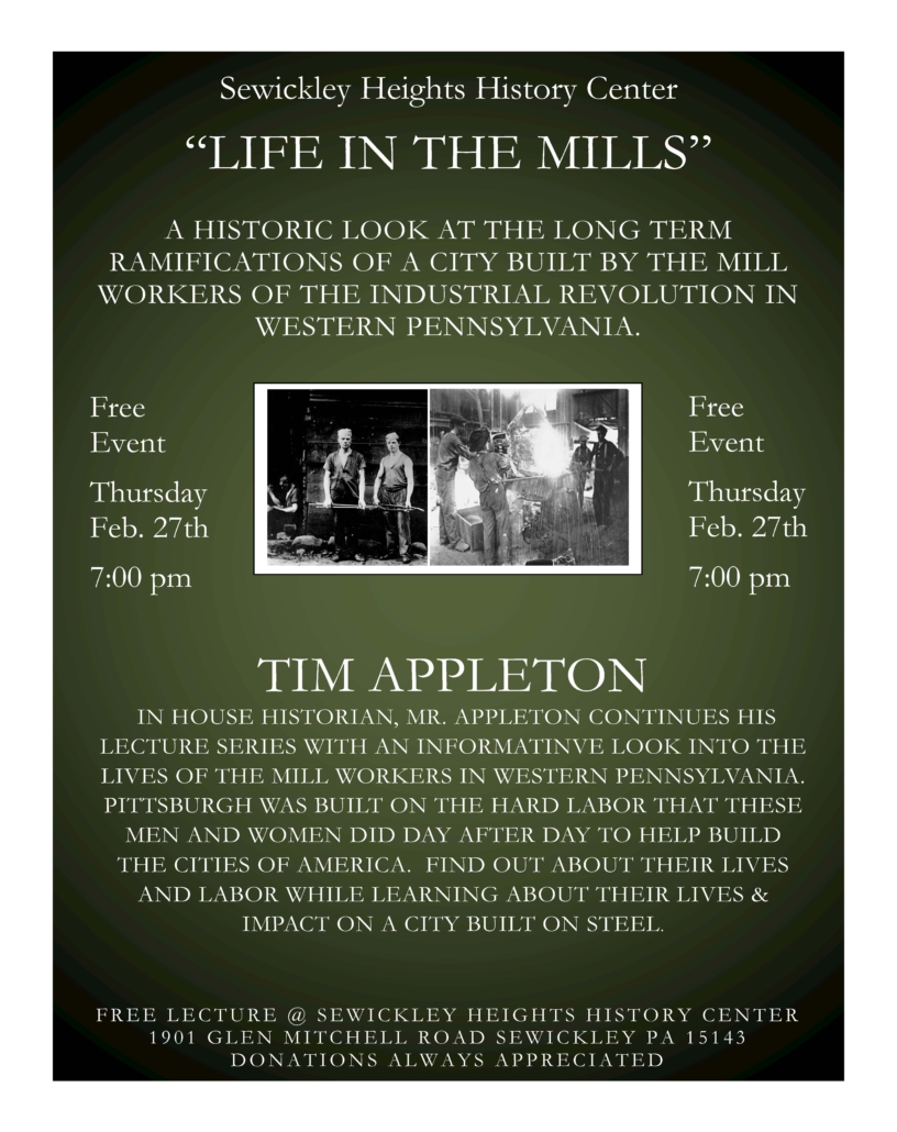 Life in the Mills